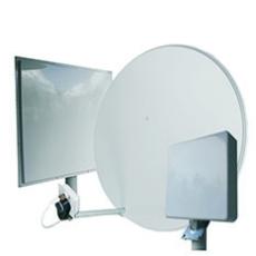 3G/4G широкополосные однопортовые антенны