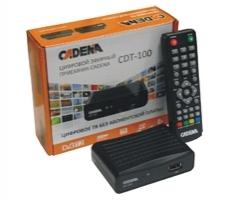 Ресивер цифрового ТВ Cadena CDT 100