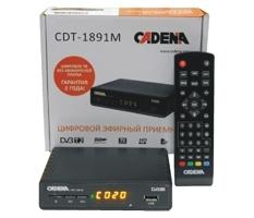 Ресивер цифрового ТВ Cadena CDT-1891M