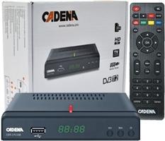 Ресивер цифрового ТВ Cadena CDT-1711SB