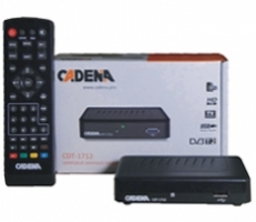 Ресивер цифрового ТВ Cadena CDT 1712