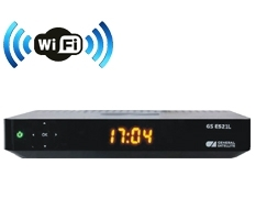 Комплект ресивер GS E521L HD с модулем Wi-Fi и картой доступа