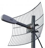 4G Антенна 24 dB. Kroks 24-1700/2700N 3G2100