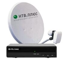 Комплект НТВ Плюс ресивер NTV Plus 710HD VA с антенной 60 см