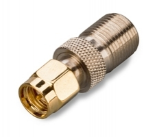Переходник SMA(Male) - F (Female) для 3G/4G антенн и роутеров